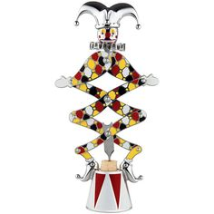 Alessi The Circus Jester Corkscrew ($1,005) ❤ liked on Polyvore featuring home, kitchen & dining, bar tools, multi, alessi corkscrew and alessi