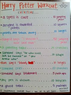 Now this is a workout for a nerdy mom :)