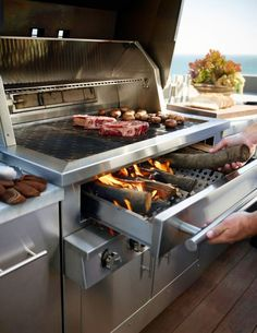 The Kalamazoo Hybrid Fire Grill: The Ultimate Grill - Küche