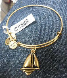 "ALEX & ANI  BRACELET ""SAILBOAT""  RAFAELIAN  GOLD  NWT - http://designerjewelrygalleria.com/alex-ani/alex-ani-bracelet-sailboat-rafaelian-gold-nwt/"