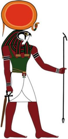 ancient egyptian god RA, God of the Sun