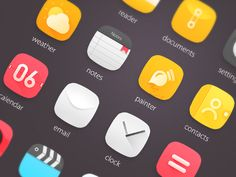 Harmonia, a theme for Flyme OS.  Girlfriend's work XD.  Click here for more: http://www.zcool.com.cn/work/ZNTQzNDczMg==.html