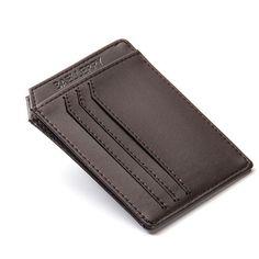 Slim PU Leather Men Wallets Designer Brand Credit Card Holder Male Purses Men Bags carteira masculina--01BID104 PM30