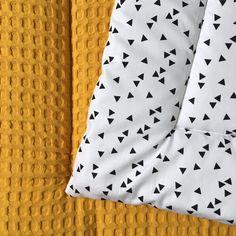 Boxkleed - Muffie & Snuffie - wafelstof - handgemaakt - box - kinderkamer - babykamer - baby - zwanger - kraamkado