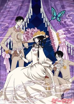 XXXHolic -- Yuuko-san, the only convincing Japanese Gibson girl (if only she wasn't so scary!)