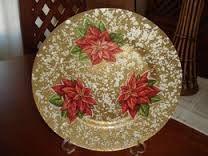 Resultado de imagem para prato de vidro decorado com guardanapo
