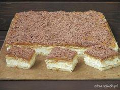Ciasto cappuccino w 20 minut - Obżarciuch Cold Desserts, No Bake Desserts, Cake Recipes, Dessert Recipes, Banoffee Pie, Polish Recipes, Foods With Gluten, Homemade Cakes, My Favorite Food