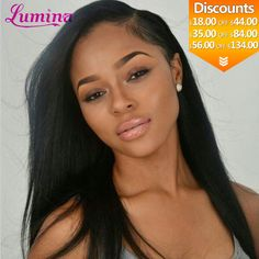 Mike & Mary Top Yaki Straight Brazilian Hair Lace Front Wigs for Black Women with Baby Hair Real Human Hair Lace Wigs Darkest Brown) Weave Hairstyles, Straight Hairstyles, Girl Hairstyles, Curly Hair Styles, Natural Hair Styles, Hair Laid, Human Hair Lace Wigs, Relaxed Hair, Sleek Hair