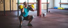 10 exercises you can do with just a kettlebell