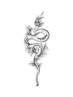#эстетика #эскизы #эскизытатуировок #эскизтату #змея #тату #татуировки #татупроекты #татузмея #tattoo #tattooideas #tattooart #красота #переводныетату Snake And Flowers Tattoo, Snake Tattoo, Wildlife Tattoo, Tattoo Models, Tattoo Drawings, Blackwork, Tatoos, Tattoo Designs, Moon Art