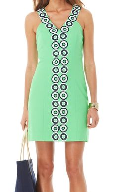 I like geometry - Lilly Pulitzer Trudy Shift Dress