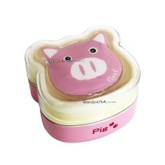 #bento #box #food #container. The pig is Cold Gel Pack!