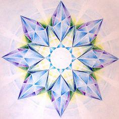 """""""Star"""" - art by mandala3, via Flickr"""