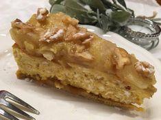 Birnen-Vanille-Topfentorte (glutenfrei, ohne Zuckerzusatz, sojafrei) Paleo, Vegan, Desserts, Food, Vanilla, Glutenfree, Sugar, Pears, Food Food