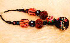 Matryoshka Statement Necklaceavant garde necklaceOOAK by Nufar