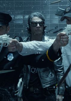Evan Peters as Quicksilver in X-Men: Days of Future Past (2014)