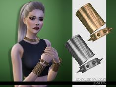 The Sims Resource: Stargaze Bracelet by LeahLilith • Sims 4 Downloads