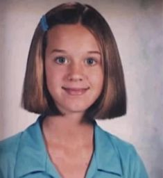 Katy Perry when she was little