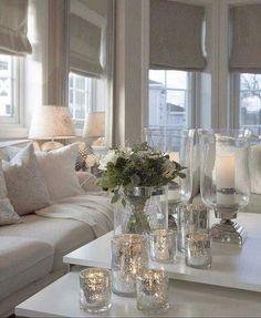 45 Elegant And Cozy Living Room Decorating Ideas Cozy Living Rooms, Home Living Room, Living Room Designs, Living Room Decor, Living Area, Living Room Inspiration, Interior Inspiration, Home Interior Design, House Design