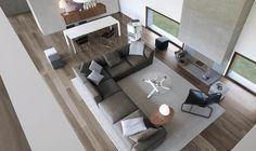 16 Elegant Contemporary Living Rooms