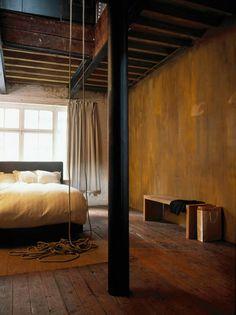 Méchant Design: masculine loft