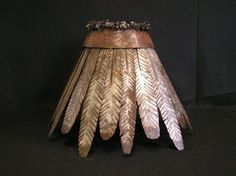 Dean Grommet, Whitefish MT: Custom Made Iron & Rawhide Lamp Shades