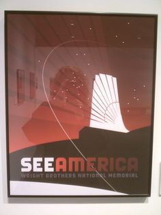 See America poster exhibition, FDR Library & Museum, 2014