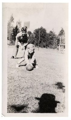 vintage everyday: The Same Creepy Shadow of Photographer Wearing a Hat Lurks in…