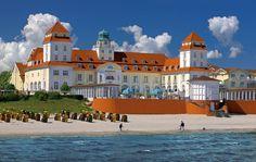 Travel Charme Kurhaus Binz Aussenansicht Rügen