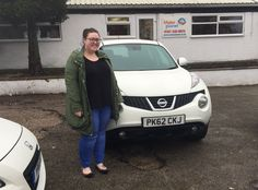 Here is the fabulous Cat picking up her equally fabulous #juke. It was a pleasure to meet you and we know you're going to love your new car.