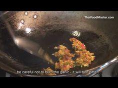 Stir Fried Pork With Holy Basil and Deep Fried Eggplant   (ผัดกระเพราหมูสับ มะเขือยาวทอด, pad krapao moo sap makua yao)