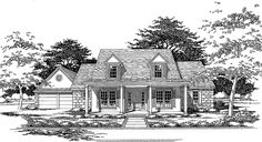 Eplans Country House Plan - Bustling with Built-Ins - 2468 Square Feet and 3 Bedrooms(s) from Eplans - House Plan Code HWEPL64510