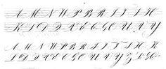 Resultado de imagem para calligraphy style handwriting