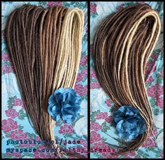 brown synthetic dreads by ~dark-royality on deviantART