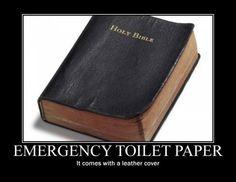 Emergency toilet paper