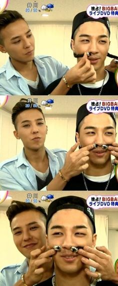 G-Dragon  Taeyang - actual grown adults?