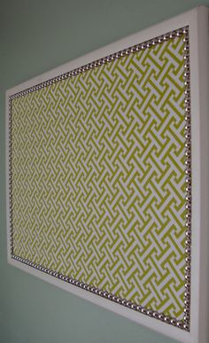 Decorative Bulletin Board, Large by Only Lally - modern - bulletin board - Etsy