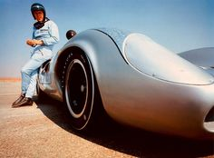 McQueen and Lola T70 Can Am . . .