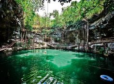 Travel to the World's Best Swimming Holes and Cenotes | Spot Cool Stuff: Travel