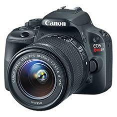 Canon EOS Rebel SL1 $479.99 (32% Savings - Gift Idea) - http://frugalorfree.com/deals/canon-eos-rebel-sl1-479-99-32-savings-gift-idea/