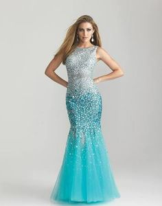 ombre mermaid dress - Google Search