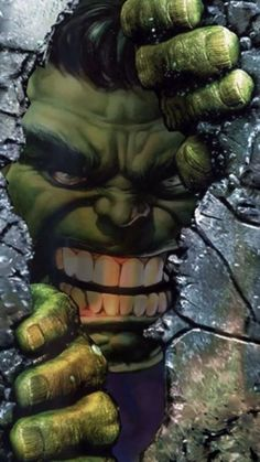 Hulk coming through! Hulk Marvel, Marvel Comics, Hulk Avengers, Marvel Art, Marvel Heroes, Hulk Comic, Ms Marvel, Batman Wallpaper, Live Wallpaper Iphone