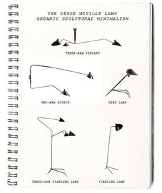 THE SERGE MOUILLE LAMP