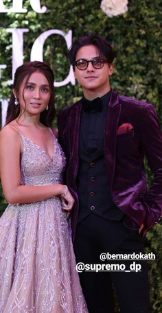 KathNiel at Star Magic Ball, ✨✨✨ Bff Pictures, Bff Pics, Star Magic Ball, Daniel Johns, Daniel Padilla, John Ford, Kathryn Bernardo, Filipina, Couple Goals
