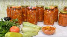 Fantastická zeleninová směs s cuketou BEZ zavařování: Tyto poháry budou v zimě hotovým pokladem, stačí otevřít a máte večeři! Spices, Jar, Stuffed Peppers, Vegetables, Cooking, Cold Cuts, Preserve, Russian Cuisine, Home Canning