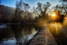 Park Bachinovo Sunset by bonereaper