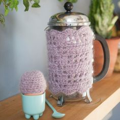Free Pattern Crochet Coffee Pot Cosy Jasper