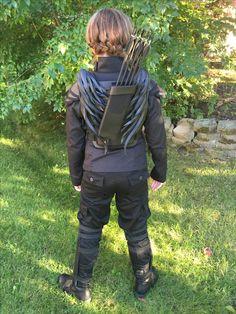 Finished Katniss Costume Mockingjay Costume, Katniss Costume, Katness Everdeen Costume, Halloween Ideas, Halloween Costumes, Katniss Everdeen, Cosplay, Bradley Mountain, Hunger Games