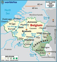 Antwerp- Belgium, love this place, diamond capital of the world. My grandparents were from Ghent and Brugge! Belgium Facts, Belgium Map, Belgium Germany, Antwerp Belgium, Travel Belgium, Luxembourg, European Map, Neuschwanstein, Country Maps