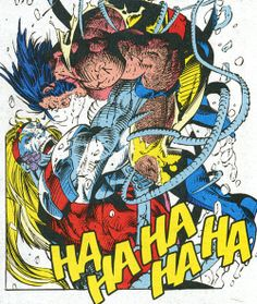 Omega Red vs Wolverine by Jim Lee